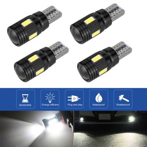 T10 501 W5W CAR SIDE LIGHT BULBS ERROR FREE CANBUS 6 SMD LED XENON HID WHITE EG7