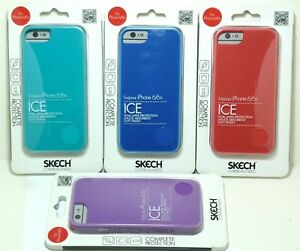 Skech-DOUX-DUR-ET-Slim-Ice-Case-Etui-Pour-iPhone-8-7-6-6S