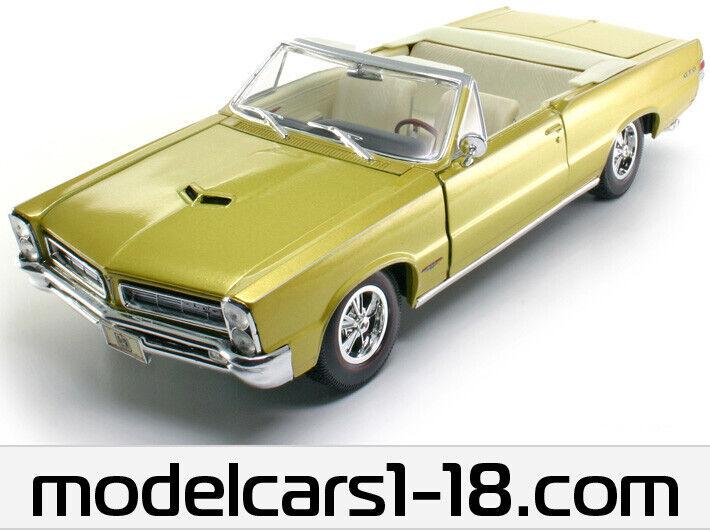 1 18 Pontiac GTO 1965 Maisto