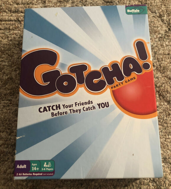 BOARD GAME by Buffalo Games  Catch your friends before they catch you! GOTCHA