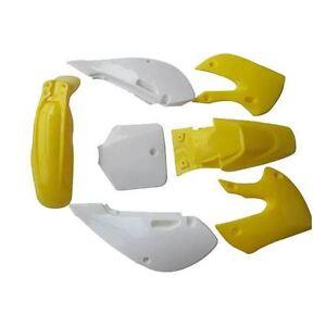 Yellow-KLX110-PLASTICS-KIT-DIRT-BIKE-140-150-160-200CC-ATOMIK-THUMPSTAR-PITPRO
