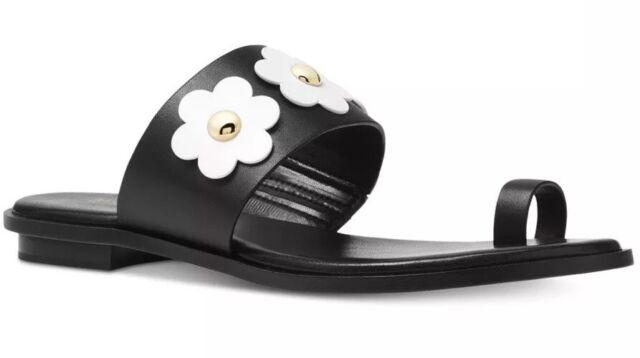 Michael Kors Sonya Acorn Leather Toe