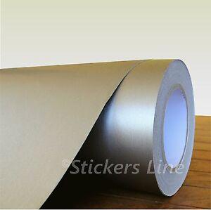 Pellicola adesiva TITANIO SPAZZOLATO cm 25 x 75 (Cast) adhesive titanium