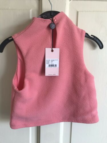 BNWT John Lewis /'Blush/' Fully Lined Top Girls Pink Age 5-9 Years