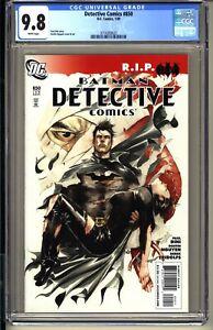 Detective-Comics-850-CGC-9-8-WP-NM-MT-DC-2009-Batman-1st-app-Gotham-City-Sirens