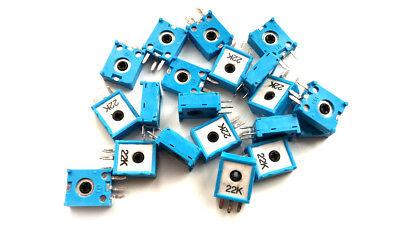 10 pieces 22 kOhm 0.15W Trimmer Potentiometer Trimpot Preset Resistor