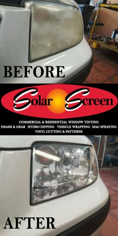 Headlight Protection Film - Smoked Headlights - Paint Protection Film