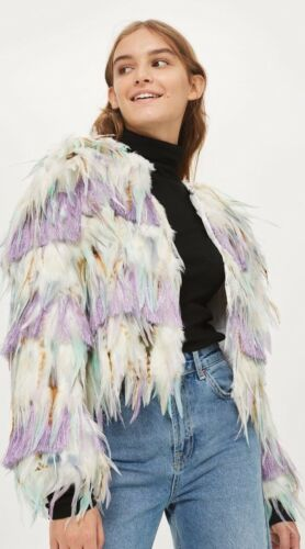 Feather Festival Multi Out Topshop Sold Medium Jacket ad5wfYxp