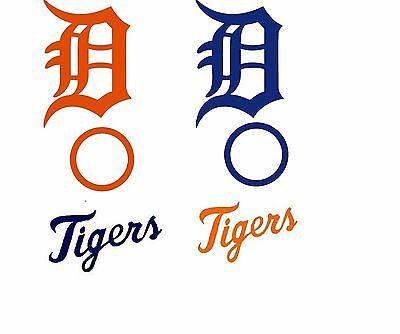 Complete Set Detroit Tigers Cornhole Set of 6 Vinyl Decals