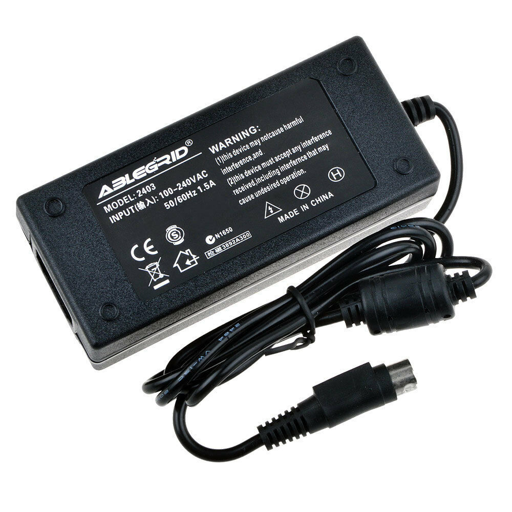 AC Adapter Charger for EPSON M165C M165B Label Printer TML90 Power Supply Mains