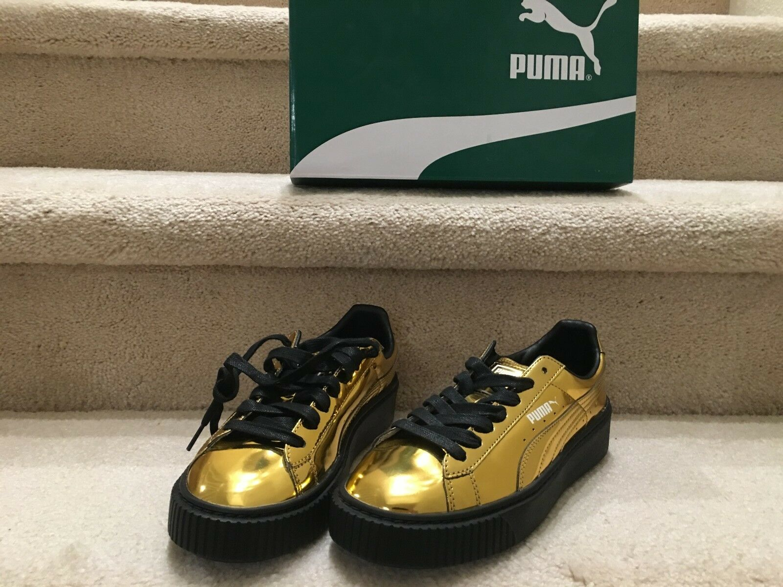 Puma Cesta Plataforma Metálica Zapatos para mujer de 36233904 36233904 de 749137