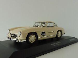 Mercedes-Benz-300-Sl-1955-Cream-1-18-Minichamps-110037212-Pma-W198-Mercedes