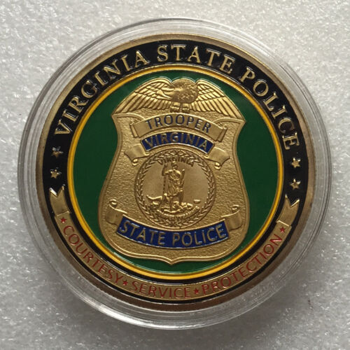 Virginia State Police Challenge Coin