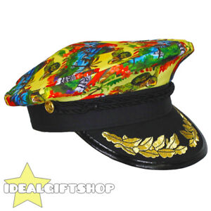 Image is loading YELLOW-HAWAIIAN-TROPICAL-SAILOR-CAPTAIN-HATS-FANCY-DRESS- c2d90277e8a2
