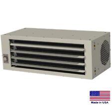 Unit Heater Hydronic Hot Water Fan Forced Low Profile 40000 Btu