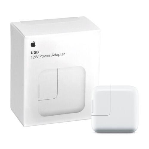 12W Apple USB Power Adapter Genuine Original OEM Wall Plug for iPad and iPhone