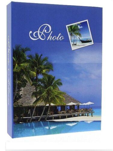 """Slip in Foto Album può contenere 200 6/"""" /""""X 4/"""" foto ricordi delle vacanze GRANDE IDEA REGALO"""