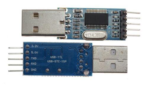Pl2303 TTL//USB//STC parve Programmer Convertisseur rs232