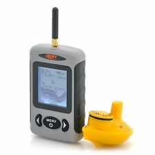 A0264 ECOSCANDAGLIO WIRELESS FISH FINDER CARPFISHING BAIT BOAT SONAR SENZA FILI