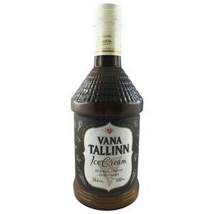 Vana Tallinn Rum Likör Ice Cream 0,5L Estland Spirituose Liqueur Estonia
