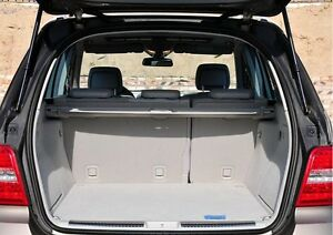 Envelope style trunk cargo net for mercedes benz ml class for Mercedes benz car trunk organizer