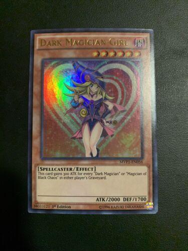 YUGIOH Dark Magician Girl 1st Edition SECRET RARE MVP1-ENS56 NM
