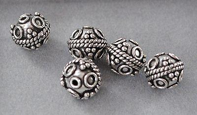 DIY Vintage Schmuck Spacer Perlen Charms Altsilber 925 Silber Zwischenteile