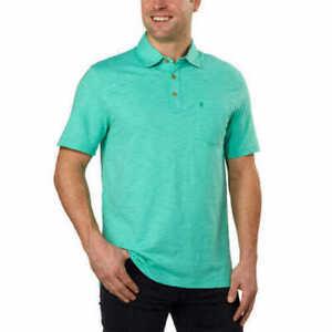 NEW-IZOD-Short-Sleeves-Men-s-Slub-Polo-T-Shirt-Select-VARIETY-SIZE-amp-COLOR