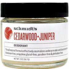 Schmidts Natural Deodorant Jar Cedarwood Juniper Jar 2 oz