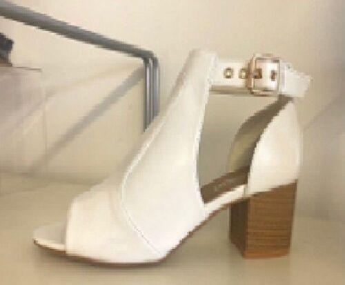 Shoes CV3 Sandles Boutique Cut Out Detail High Block Heel Ankle Boots