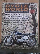 1968 June Cycle World Montessa 360 Cappra Ossa Stiletto Manx Norton 134 Pgs