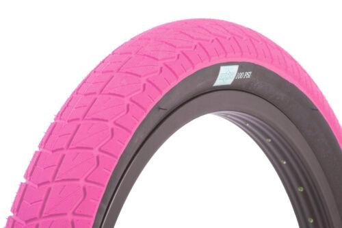 20 x 2.4 Pink w// Black Sidewall Sunday BMX Current Tire