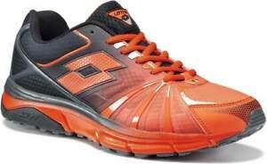 Scarpe-Lotto-Moonrun-R5908-Moda-Uomo-Confort-Running-Sport-Arancio-Cool