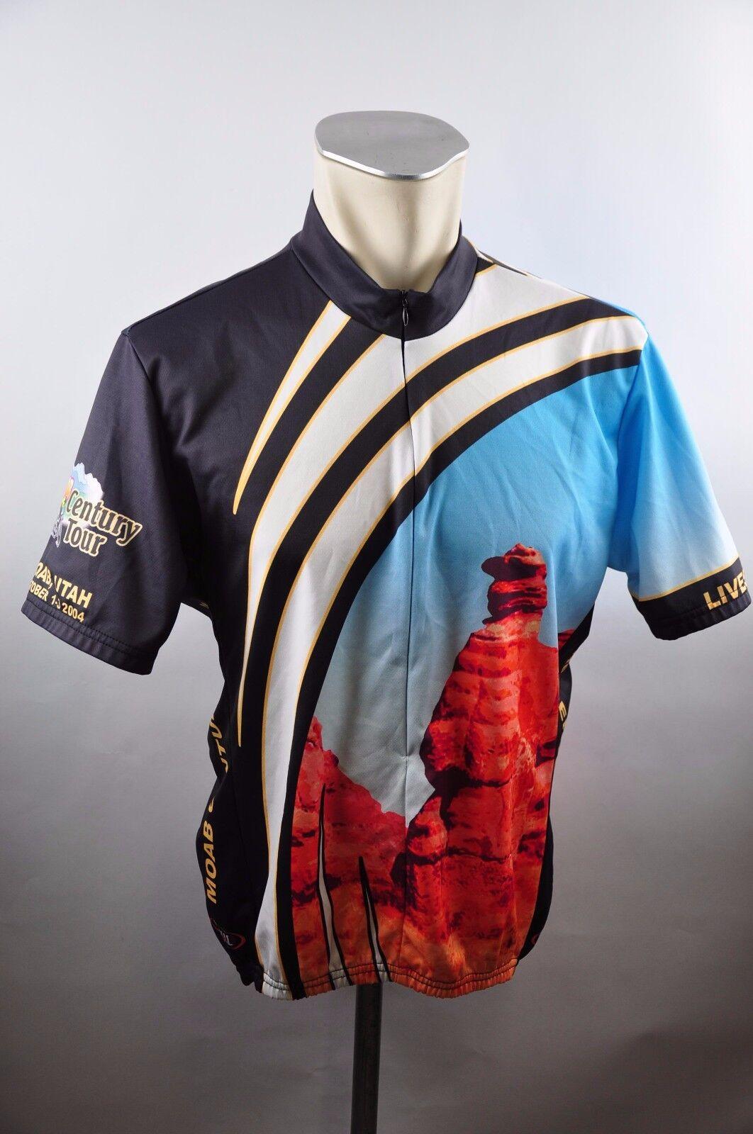 Primal Wear Utah Radtrikot cycling jersey Trikot maglia Gr. L 61cm DF1