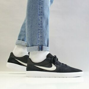 NIKE-SB-TEAM-Clasico-Zapatillas-Gamuza-Casual-Moda-Negro-Varios-Tamanos