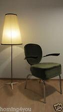 Stahlrohr Sessel Stuhl Bürostuhl Federkern Rockabilly Vintage 50er Jahre