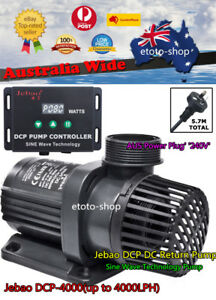 Humor Jebao Dcp-4000 Marine Dc Return Water Pump & Controller Quite Sine Wave Tech Good For Antipyretic And Throat Soother Pumps (water)