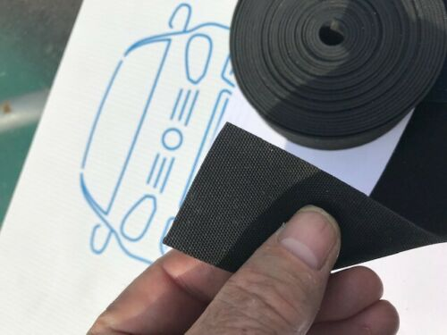 etc 1.5mm x 38mm x 5M Classic Cars Kit Cars Windscreen Frame  Glazing Rubber