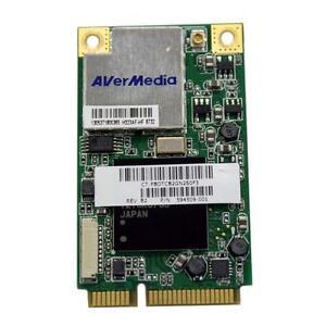 NEW-HP-TV-TUNER-AVERMEDIA-H323-KINGBIRD2-NTSC-ATSC-Mini-PCI-e-DVB-T-594509-001