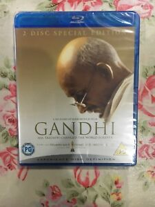 Gandhi (Blu-ray, 2009) NEW/FACTORY SEALED