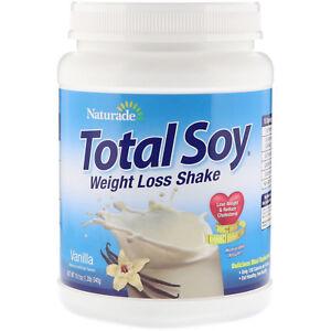 Naturade Total Soy Weight Loss Shake Vanilla 19 1 oz 540 g Egg-Free,