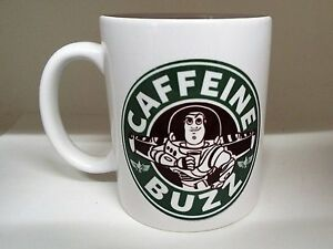 Buzz-Caffe-Buzz-Lightyear-Ispirato-Starbucks-313ml-Tazza-in-Ceramica