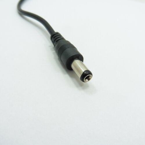 5V 80cm Cable de alimentación de carga USB macho a dc 5.5mm X 2.1mm Enchufe Fuente De Alambre