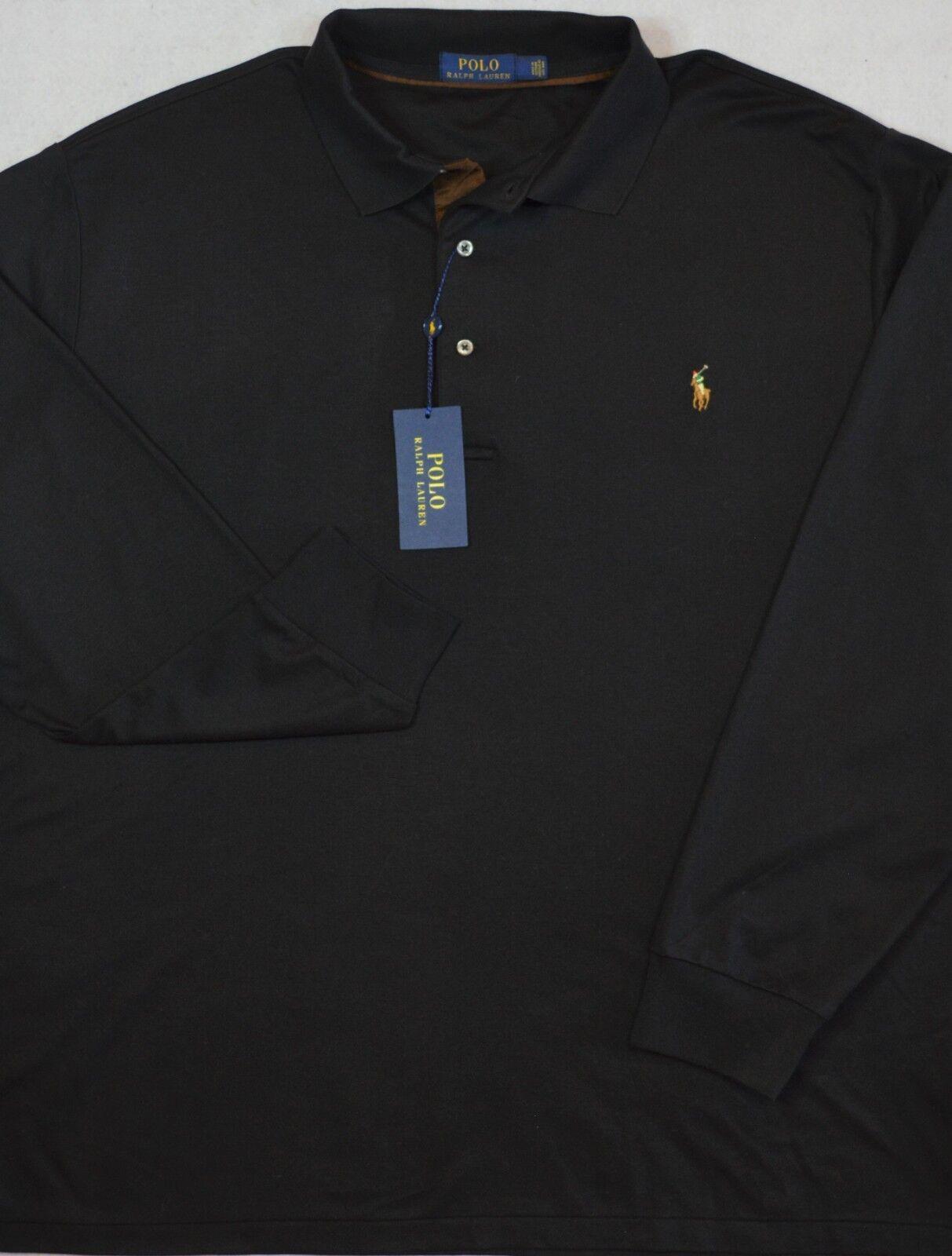 Polo Ralph Lauren Shirt Pima Soft Touch Long Sleeves LT & XLT Tall NWT