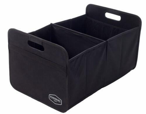 Premium faltbare Kofferraumtasche Faltbox schwarz ideal für Ordnung im Auto