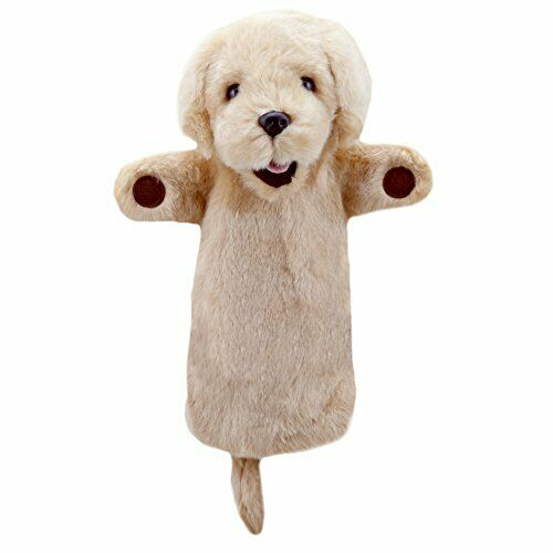 The Puppet Company - Long Sleeves - Yellow Labrador Hand Puppet