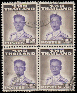 Thailand-294-Used-block-of-4