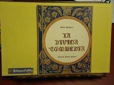 ART 6.081 LIBRO LA DIVINA COMMEDIA DI DANTE ALIGHIERI INFERNO CANTO 3 1963