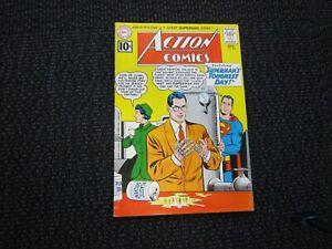 Action-Comics-282-1961-Fine-last-10-cent-issue-robot-Superman