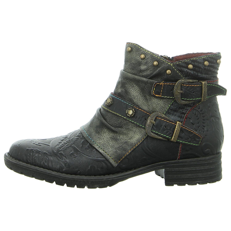 LAURA VITA Schuhe Stiefelette GACMAYO 01 schwarz (schwarz) NEU